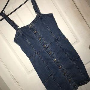 H & M denim body dress